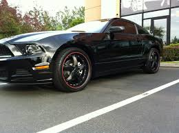 Black Mustang Black Rims My New Black 2013 Mustang V6 With Rims Ford Mustang Forum