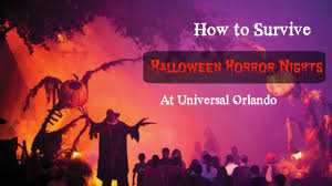 halloween horror nights with annual pass how to survive halloween horror nights youtube