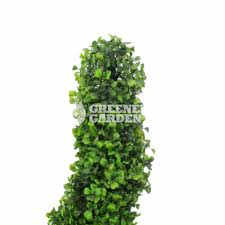 topiary spiral bonsai artificial boxwood spiral tree for chirstmas