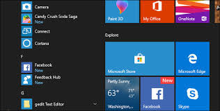 cortana take me to my facebook page hey microsoft stop installing apps on my pc without asking