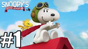 peanuts movie snoopy u0027s grand adventure gameplay