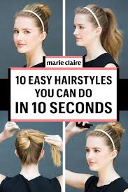 easy hairstyles for short hair to do at home hottest hairstyles