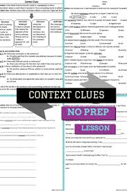 best 25 context clues worksheets ideas on pinterest context