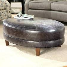 gray leather ottoman coffee table marvelous round gray ottoman grey ottoman coffee table sofa gray