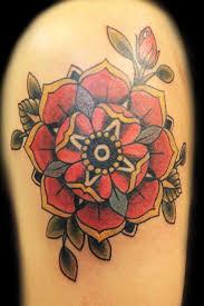 rose old galerie tatouage