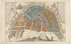 Map Of Amsterdam File Map Of Amsterdam With Civic Militia Districts By Hendrik De