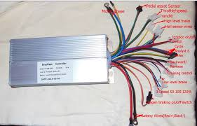 9c hub motor wires side direction endless sphere