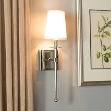 Wall Sconce Light Fixture Martens 1 Light Wall Sconce Reviews Joss