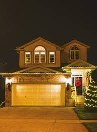 Home Decorated For Christmas by Christmas Light Decor With Home Depot Canada