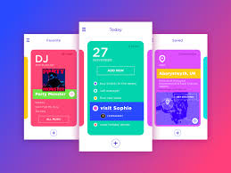 dribbble tubik studio u2014 mates check this bright ui on dribbble it u0027s a