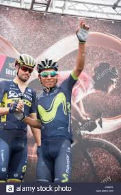 2017 Giro D U0027italia Live by Olbia Italy 6th May 2017 On The Right Nairo Quintana Of Stock