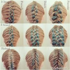 types of hair braids 66 best hair images on pinterest braids hair tutorials and
