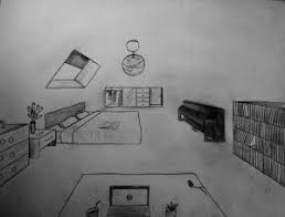 dessin chambre en perspective une chambre en perspective le de lespassionsdemimi com