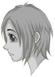 how to draw anime u0026 manga faces u0026 heads in profile side view