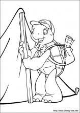 Franklin Coloring Pages On Coloring Book Info Franklin Coloring Pages