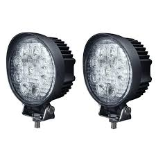 4 Inch Round 27w Led Work Lights For Truck 4x4 Accessories Off Road