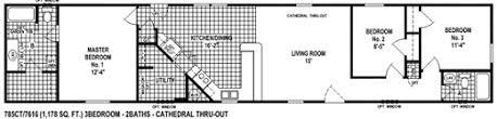Single Wide Mobile Home Floor Plans 2 Bedroom Single Wide Mobile Home Floor Plans
