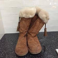 s ugg australia plumdale boots ugg w plumdale boots chestnut size 8m ebay