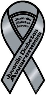 diabetes ribbon juvenile diabetes awareness ribbon magnet automotive