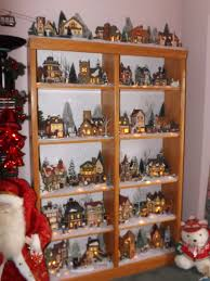 christmas village room simply grateful housewife