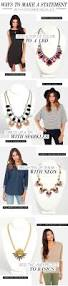 20 style tips u0026 ideas on how to wear statement necklaces gurl com