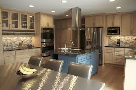 attractive light wood kitchens for house decor ideas with natural