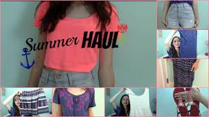 Hollister Clothes For Girls Summer Haul Forever 21 Hollister Youtube