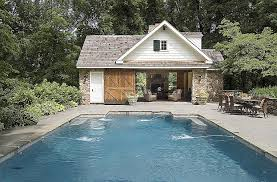 house of pool mesmerizing garage and pool house combination plans photos best