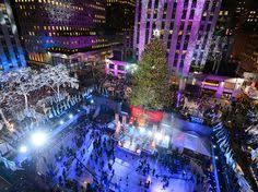 rockefeller center tree lighting new york city