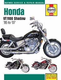 1985 2007 honda shadow vt 1100 spirit aero sabre haynes repair