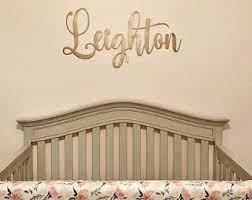 Etsy Nursery Decor Innovation Ideas Name Wall Also Baby Etsy Gold Sign