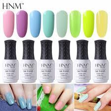 aliexpress com buy hnm light color 8ml gel nail polish hybrid