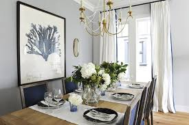 Transitional Dining Rooms Modern Concept Navy Blue Dining Chairs Transitional Dining Room