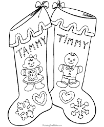 free christmas stocking coloring pages 004
