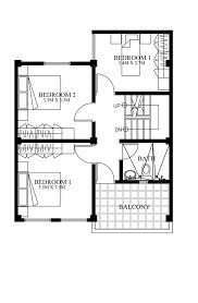 modern homes floor plans modern house designs series mhd 2012007 eplans