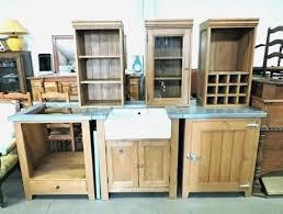 meuble cuisine zinc cuisine en pin beautiful meuble cuisine bois et zinc meuble cuisine