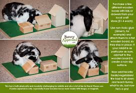 How To Make A Wooden Toy Box With Lid by Diy Rabbit Toy Ideas Bunny Approved House Rabbit Toys Snacks