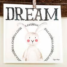 rabbit prints watercolor nursery print woodland rabbit spark moxie