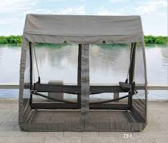 outdoor hammock lying bed individual iron chair swing shaker