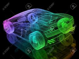 3d car wire stock photo picture and royalty free image image