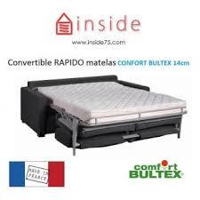 confort bultex canapé canape convertible rapido matelas bultex frais canapã s confort
