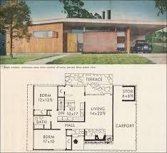 better homes and gardens floor plans 1960 better homes gardens five star home 2305 midcentury