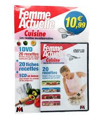 dvd recettes de cuisine dvd fasicule m6 femme actuelle cuisine recette