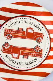 vintage fire truck hunters rose