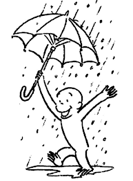 curious george play rain coloring netart