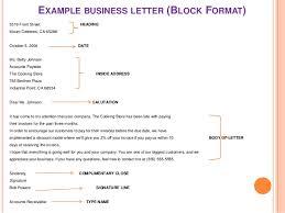 proper business letter format 2 letter format cover letter