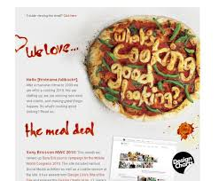 newsletter cuisine 15 best newsletters images on email newsletters email