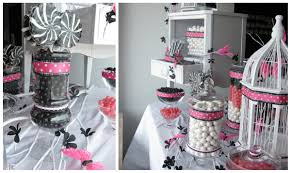 Pink And Black Candy Buffet by A Candy Buffet For Any Occasion Two U0027s A Party