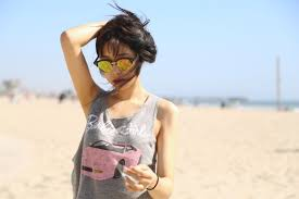 ally gong venice beach asian style la blogger effortless ally gong