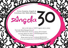 30th surprise party invitations hillmark design angela u0027s surprise birthday party invitations